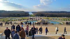20 Versailles Mars 2017 Château Bassin de Latone et Grand Canal (paspog) Tags: versailles france chateaudeversailles palace castle schloss castel 2017 castelo castello février februar february