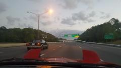 20170326_063524 (Megkenn) Tags: car cars miata mr2 morning fog foggy red grey gray pretty beauty beautiful florida alabama today now march great element elemental elements autocross roadtrip road drive driving