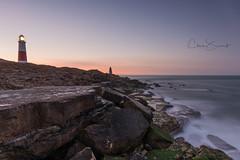 Portland Long Exposure (Chris Sweet Photography) Tags: dorset portland portlandbill lighthouse longexposure le seascape coast coastal tide sunrise goldenhour