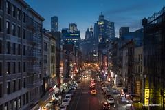 Chinatwon, NYC (Jack Berman) Tags: fujifilm x100f chinatown nyc newyorkcity jackberman night sunset city cityscape