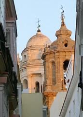 Torres catedral. Cádiz (alvaro31416) Tags: cadiz torre catedral