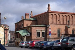 DSC_3723 (mkk3a) Tags: architektura kazimierz kraków polska starasynagoga obróbka shiftn synagoga