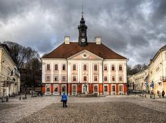 "Town Hall, Tartu Estonia (neilalderney123) Tags: ©2017neilhoward tartu estonia travel architecture olympus house hall square ""flickrtravelaward"""