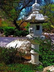 japanese garden (JoelDeluxe) Tags: albuquerque biopark botanical garden nm newmexico joeldeluxe