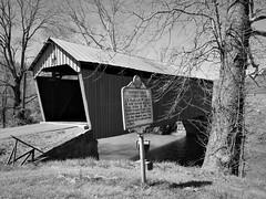 Simpson Creek covered bridge (photography_isn't_terrorism) Tags: wv westvirginia coveredbridge rural historic rustic