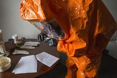 170406-F-AL508-097 (New Jersey National Guard) Tags: 21stweaponsofmassdestructioncivilsupportteam 21stwmdcst 21stcst weaponsofmassdestruction civilsupportteam surveyteam entryteam chemicalbiologicalradiologicalandnuclear cbrn exercise jointtraining joint training train monmouthcountyhazmatteam fortmonmouth federalemergencymanagementagencyregionii federalemergencymanagementagency fema regionii soldier soldiers airman airmen newjerseyarmynationalguard njarng newjerseyairnationalguard njang newjerseynationalguard njng jointbasemcguiredixlakehurst jbmdl newjersey nj unitedstatesarmy usa army unitedstatesairforce usaf airforce usmilitary military nationalguard guard usnationalguard armynationalguard airnationalguard levelaprotectivesuit protectivesuit chemical biological radiological emergencymanagement crisis mask suit rebreather chem medical photobymarkcolsen april62017 eatontown us