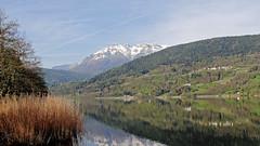 Caldonazzo Lake and Mount Vigolana (ab.130722jvkz) Tags: italy trentino alps easternalps venetianprealps mountains lakes