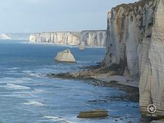 Côte d'Albâtre (Para Onde?) Tags: cliffs sea nature landscape normandy normandia étretat france frança panasoniclumix