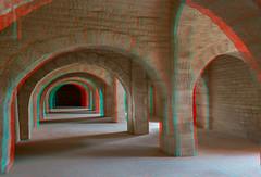 Ribat de Sousse (Pascale Jaquet & Olivier Noaillon) Tags: architecturemilitaire anaglyphe anaglyph ribat fort sousse gouvernoratdesousse tunisie tn
