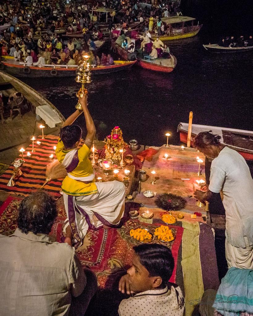 Aarti celebration
