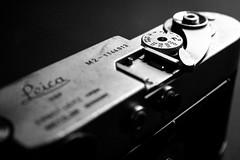 170412_SAM_0377 (Jan Jacob Trip) Tags: leica m2 camera black white bw metal text contrast dial rangefinder m