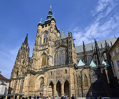 Katedrála svatého Víta (nadjones) Tags: praga prague praha prag pressburg republicacheca tschechien česko czechrepublic castelodepraga pražskýhrad praguecastle