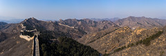 Great Wall of China (lublud) Tags: greatwallofchina china beiking wall mountain rock tower 金山岭 萬里長城 jinshanling sky big fortifications worldheritagesite unesco 万里长城 中国 北京 panorama montagnes paysage landscape hiver winter trees stairs escaliers 中國