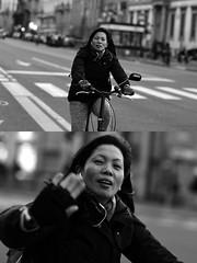 [La Mia Città][Pedala] (Urca) Tags: milano italia 2017 bicicletta pedalare ciclista ritrattostradale portrait dittico bike bicycle biancoenero blackandwhite bn bw 993140 nikondigitale scéta