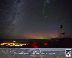 29 March 2017 (Earth & Sky NZ) Tags: astronomy astrophotography mtjohn mtjohnobservatory observatory universityofcanterburymtjohnobservatory mtjohnuniversityobservatory earthandsky newzealand nz starlightreserve darkskyreserve aorakimackenzieinternationaldarkskyreserve internationaldarkskyassociation ida mackenziebasin mackenzie aoraki stargazing tekapo laketekapo igorhoogerwerf auroraaustralis southernlights trigstation milkyway milkywaygalaxy cloudsofmagellan magellanicclouds largemagellaniccloud smallmagellaniccloud twopointers alphacentauri laserpointer greenlaser laser