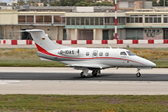 D-IDAS LMML 10-04-2017 (Burmarrad) Tags: airline donauairservice aircraft cessna 525a citationjet 2 plus registration didas cn 5250443 lmml 10042017
