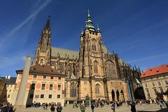 St Vitus cathedral (bennychun) Tags: prague praha praga czech czechrepublic europe euro vltava karlovmost oldtownsquare powdertower stvitus travel spring capital unesco heritage