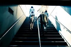 Vertigo in street - Vertige dans la rue (Chris, photographe de Nice (French Riviera)) Tags: artmoderne artcontemporain artgalleryandmuseums modernart photographiecontemporaine photographiederue streetphotography contemporaryphotography contemporaryart