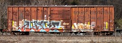 GMRC 24001 (MN transfer) Tags: railroad train freight box car boxcar 50 singledoor gmrc24001 mainecentral mec thepinetreeroute