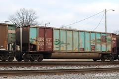 BNSF Hopper (waltersrails) Tags: bnsf hopper coal trains train railroad