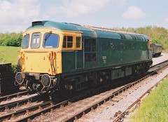 "Preserved BR Blue Class 33/1, 33111 (37190 ""Dalzell"") Tags: brblue birminghamrailwaycarriagewagonco brcwco type3 crompton bagpipe class33 class331 33111 d6528 dieselgala swanagerailway norden"
