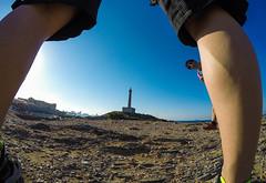 Perspective (Aka_Jandrus) Tags: gopro cabo de palos murcia creative creatividad faro sea mar sun summer verano agua water sky cielo azul blue