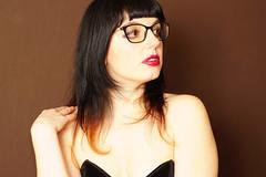 (Sean Anderson Classic Photography) Tags: sonya6000 portrait woman glasses carlzeissplanar 50mmf17 cymount doublegauss planar contaxyashicamount planar50mmf17 zeissplanar prolinca400