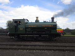 IMG_4713 - GWR Hudswell Clarke Saddle Tank 813 (SVREnthusiast) Tags: didcotrailwaycentre didcot railway centre gwrhudswellclarkesaddletank813 gwr hudswellclarke saddletank 813