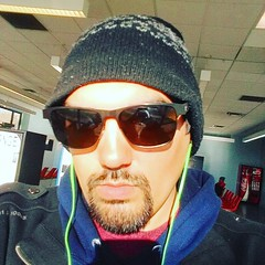 Just hanging out at the bus station. Bored. (darylcarlos1) Tags: selfie bus station chillin