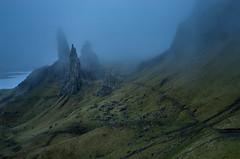 Old Man Of Storr - Isle Of Skye (grahamwilliamson1985) Tags: grahamwilliamson oldmanofstorr isleofskye trottrnishridge scotland sony sonya7r mist clag fog sunrise presunrise landscpaephotography travel fitness