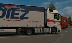 [ETS2 1.27] Mercedes actros krone trailer DLc france (trucker on the road) Tags: ets2 127 mercedes actros krone trailer dlc france