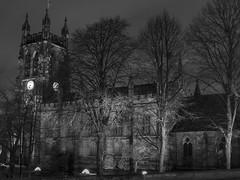 St Marys 20-2-17 (johnholme1) Tags: arcetecture floodlight nightscene stmarys stockport underbank winter