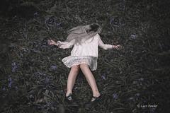 Disappearing (Lucz-) Tags: portrait conceptualphotography luczfowler dress surreal gothic interesting unusual legs creepy depression