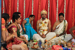 Wedding Ceremony with the Bridegroom - Bangalore Karnataka India (WanderingPJB) Tags: india karnataka bangalore bangaluru wedding ceremony bridegroom img