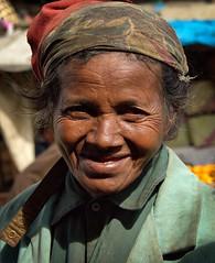 Street Lady, Madagascar (Rod Waddington) Tags: africa afrique madagascar malagasy woman streetphotography street streetphoto portrait people culture scarf candid