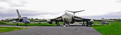 Victor and GR1 (wontolla1 (Septuagenarian)) Tags: airmen airforce aircraft airfield planes plane aeroplane victor de havilland devon prop gr4 bomber warplane raf