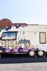 Caravan StreetArt (pixelhut) Tags: bristol uk england southwest city urban bs5 streetart grafitti greenbank caravan igerslovebs5 igersbristol