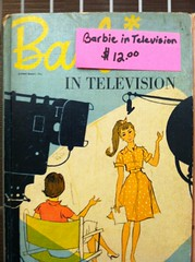 Barbie in Television vintage book (stacyinil) Tags: gaw barbie