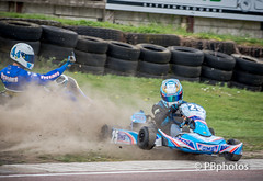 Flicking the bird ! (Paul Babington Photography) Tags: racing crash spin karting bayfordmeadows finger angry bird