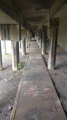old rail station (LunchboxLarry) Tags: kentucky louisville trail rail station abandoned