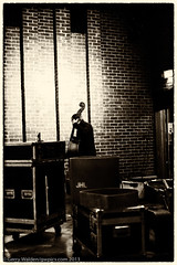 The Bass Player (gwpics) Tags: england people blackandwhite musician music white man male monochrome mono fuji unitedkingdom bass jazz american string trio southampton doublebass stringbass acousticbass xpro1 editorialuseonly