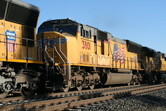 Union Pacific #3801 (EMD SD70M) in Colfax, CA (CaliforniaRailfan101 Photography) Tags: up amtrak unionpacific priority ge freight bnsf reefer manifest emd californiazephyr burlingtonnorthernsantafe dash9 dpu es44dc gevo sd70m amtk c449w stacktrain sd70ace es44ac colfaxca c45accte p42dc trackagerights es44c4 tietrain sd59mx unitreefer zdlsk trainsincolfaxca