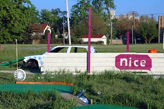 Urban Put-Put: Nice (muddyfur) Tags: urban home car nice detroit puttputt trainstation motown corktown motorcity rooseveltpark imaginationstation thed