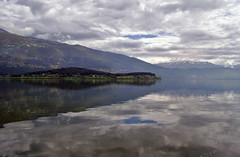 Ioannina lake (dkilim) Tags: lake mountains water greece ioannina epirus  pamvotis