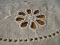 Cut Work - Hand Embroidery - 1 (ParkerRiverKid) Tags: macro embroidery lbs cutwork littlebigshot