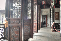 rusty (wendyyy) Tags: china old vintage garden wooden rust doors chinese nanjing xues