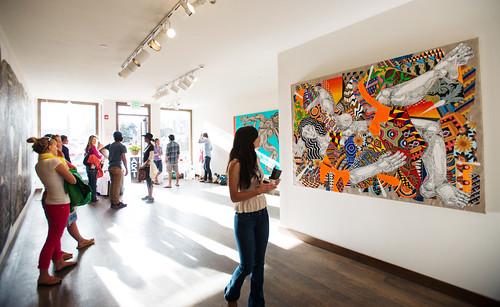 Zio Ziegler Exhibition - Gallery Walk - Photo Credit Gus Gusciora