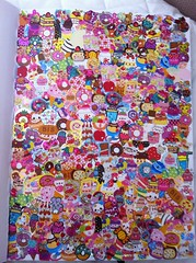 Art/scrap/junk journal pages (happyakuen) Tags: japan junk stickers journal sanrio kawaii crux stationary journals qlia rilakkuma sanx kamio journaling junkjournal uploaded:by=flickrmobile flickriosapp:filter=nofilter