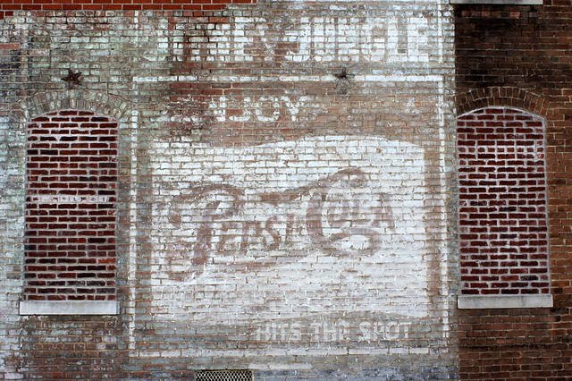 Pepsi-Cola Hits the Spot mural