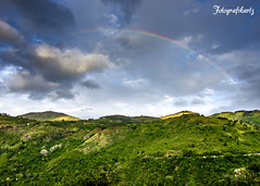 Somewhere over the rainbow... (Motographer) Tags: clouds landscape rainbow estate tea hills monsoon tamilnadu nilgiris kalhatti motographer fotografikartz motograffer